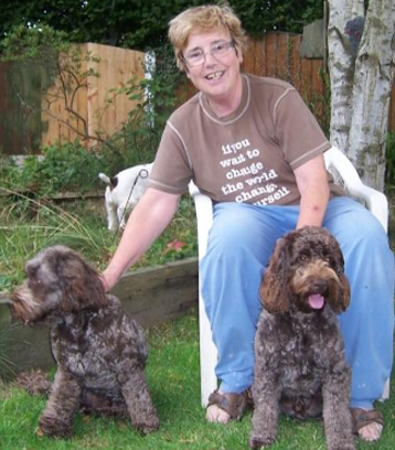 Shirley Caldwell at Holidays for Dogs Lancashire